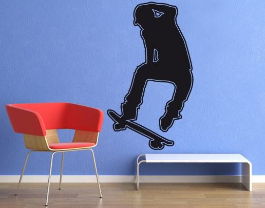 Wandtattoo Skater Skateboarder