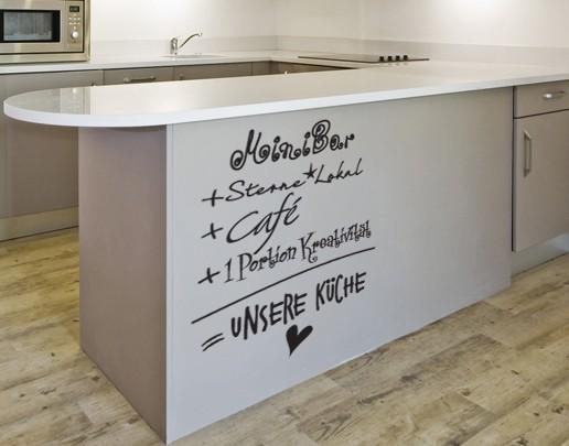 Wandtattoo Unsere Küche