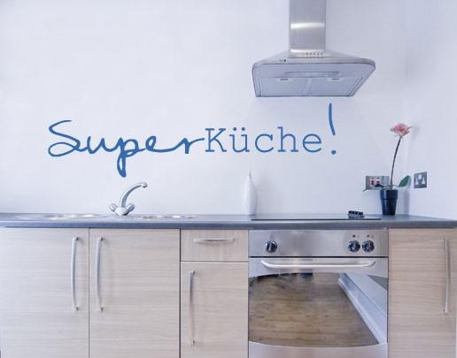 Wandtattoo Superküche!