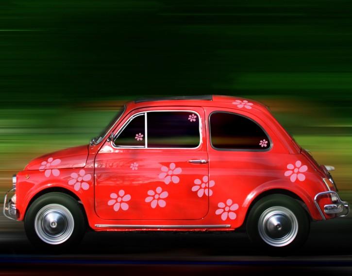Autoaufkleber Blumen und Blümchen