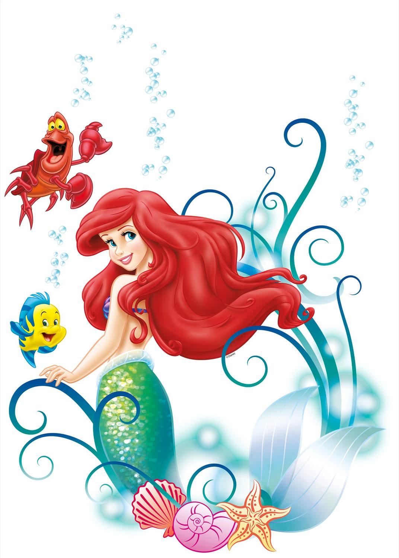 Wandsticker Disneys Arielle die Meerjungfrau bestellen