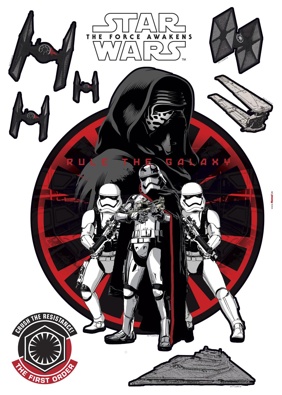 Wandsticker Star Wars First Order Online Bestellen