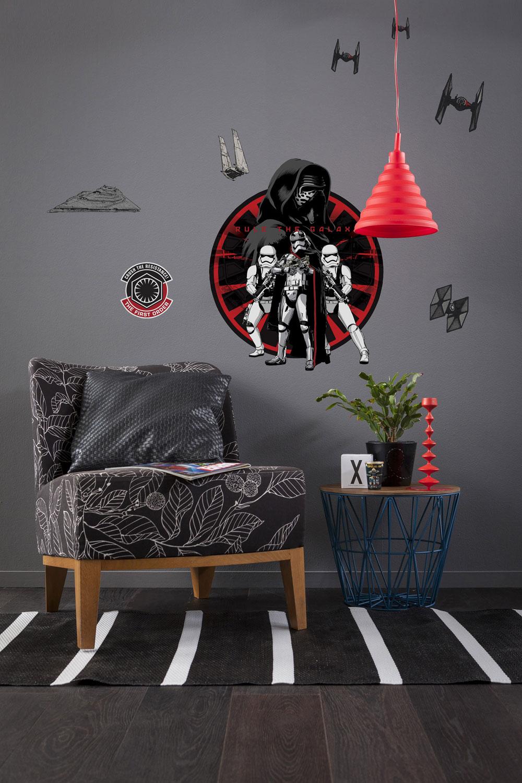 wandsticker star wars first order online bestellen. Black Bedroom Furniture Sets. Home Design Ideas