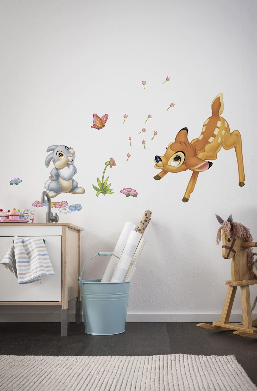 Wandsticker disneys bambi und klopfer f rs kinderzimmer - Babyzimmer tattoo ...