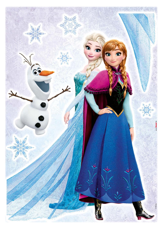 Disneys Eiskönigin Anna & Elsa mit Olaf | universumsum
