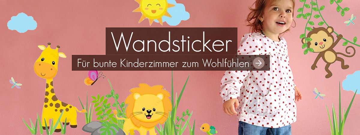 Slider Wandsticker