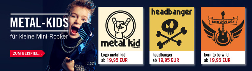 Wandtattoos Metal-Kids