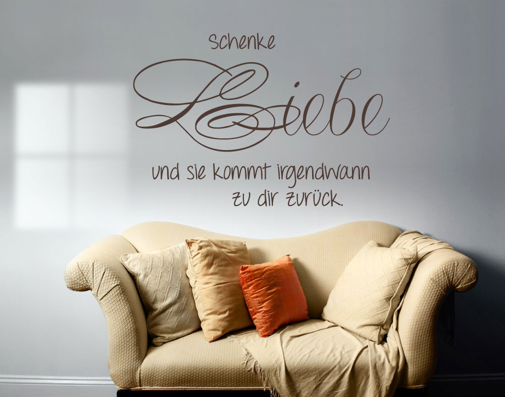 wandtattoo schenke liebe und wandtattoos bestellen. Black Bedroom Furniture Sets. Home Design Ideas
