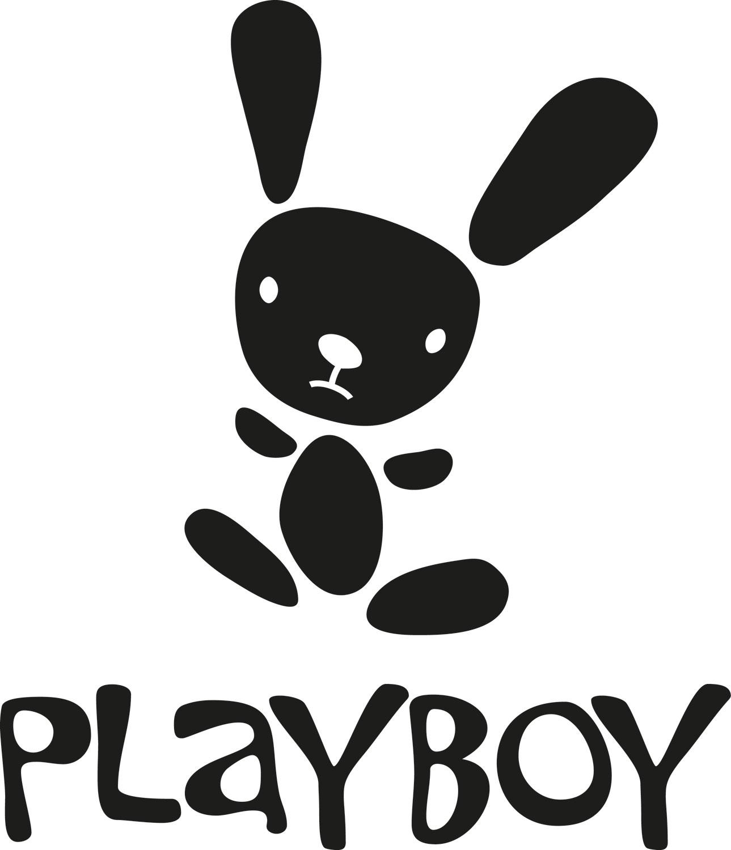Autoaufkleber Playboy