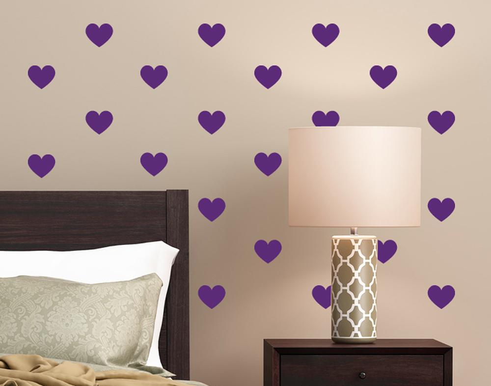wandtattoo herzen muster bei. Black Bedroom Furniture Sets. Home Design Ideas