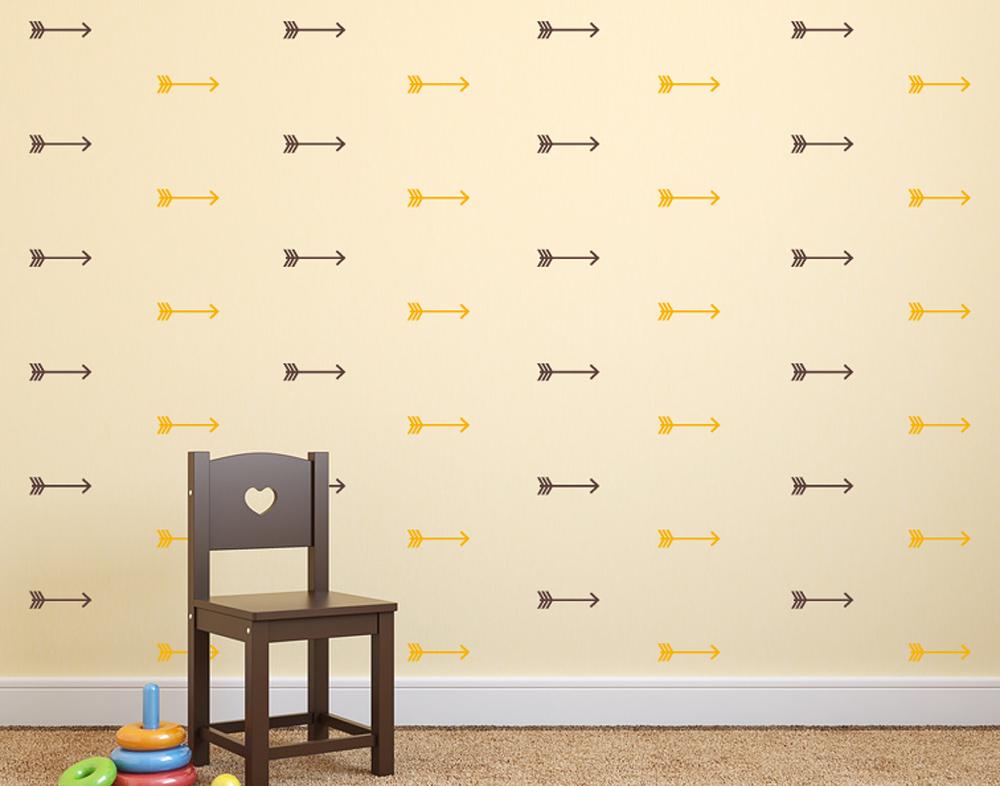 wandtattoo indianer pfeil muster bei. Black Bedroom Furniture Sets. Home Design Ideas
