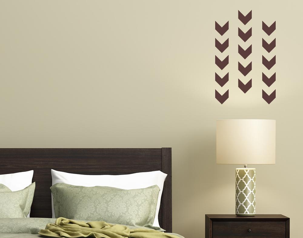 wandtattoo pfeil muster 2 bequem bei. Black Bedroom Furniture Sets. Home Design Ideas