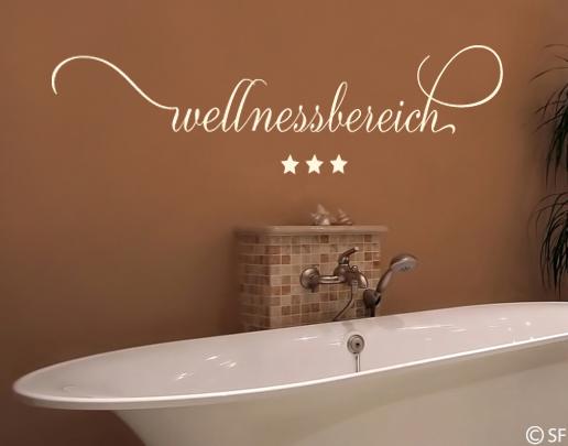 wandtattoo wellnessbereich wandtattoo f rs badezimmer. Black Bedroom Furniture Sets. Home Design Ideas