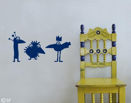 wandtattoo joky birds coole wandtattoos bestellen. Black Bedroom Furniture Sets. Home Design Ideas