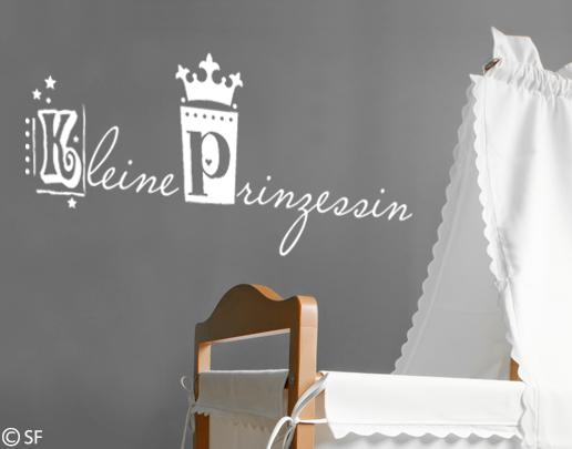 Wandtattoo Kleine Prinzessin Furs Madchen Kinderzimmer