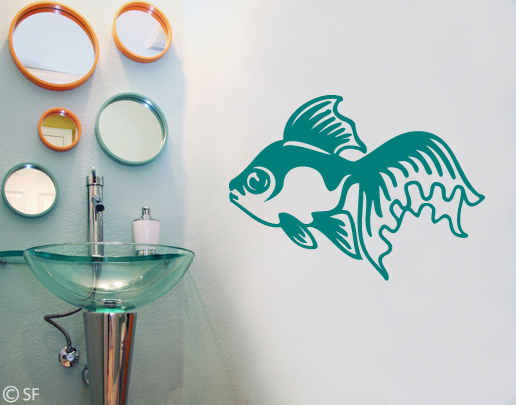 Wandtattoo Fisch