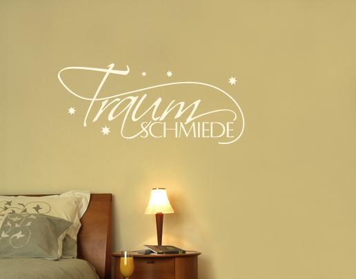 Wandtattoo Traumschmiede - Wandsprüche fürs Schlafzimmer