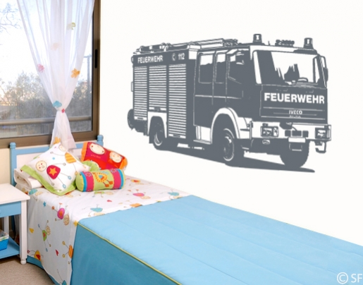 Wandsticker Feuerwehr ~ NoVeriC.coM for .