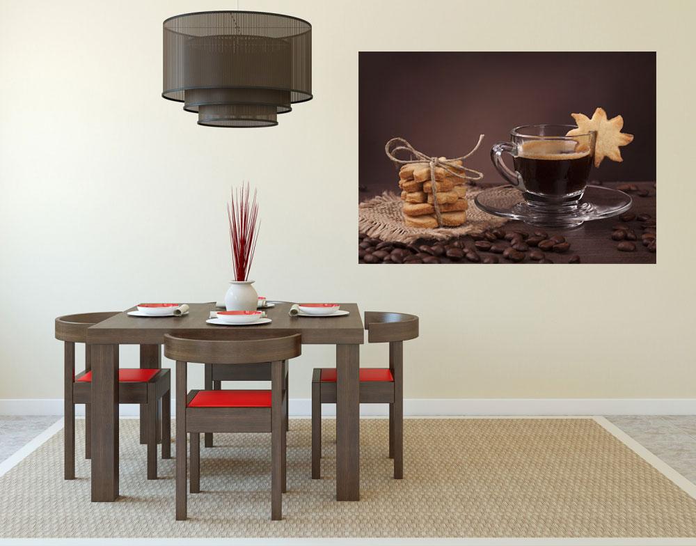 wandbild kaffee selbstklebende wandbilder auch f r ihre k che. Black Bedroom Furniture Sets. Home Design Ideas