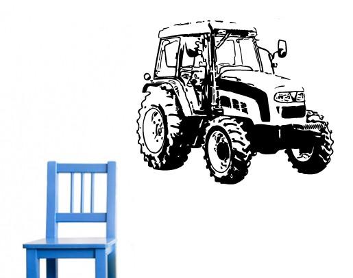 Wandtattoo traktor bestellen sie einfach bei - Traktor wandtattoo ...