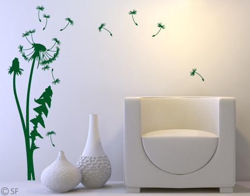 wandtattoo pusteblume gras l wenzahn. Black Bedroom Furniture Sets. Home Design Ideas