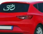 Autoaufkleber OM-Zeichen