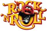 Wandsticker Disney Muppets Tier Rock'n Roll