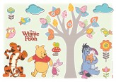 Wandsticker Winnie The Pooh Nature Lovers