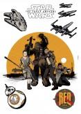Wandsticker Star Wars Resistance