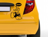 Autoaufkleber Popeye