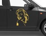 Autoaufkleber MM