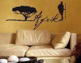 Wandtattoo Afrika Schriftzug