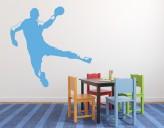 Wandtattoo Handball Sprungwurf