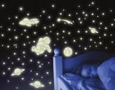 Wandtattoo Leuchtaufkleber Kosmos