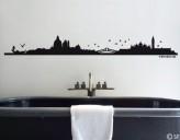 Wandtattoo Venedig Skyline
