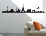 Wandtattoo Paris Skyline