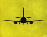 Wandtattoo Boeing 737