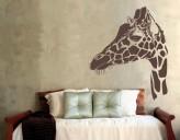 Wandtattoo Giraffenportrait