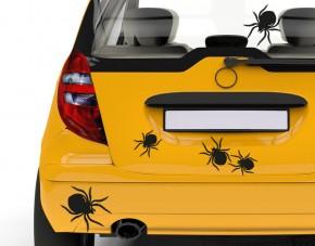 Autoaufkleber Spinnenkinder