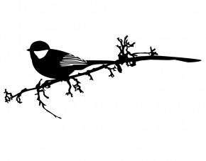 Autoaufkleber Vögelein