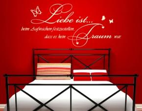 Wandtattoo Liebe ist... , kein Traum