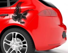 Autoaufkleber Adler