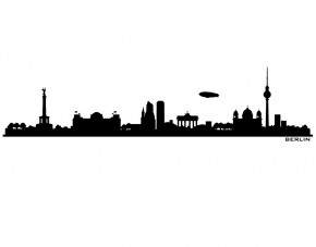 Autoaufkleber Skyline Berlin