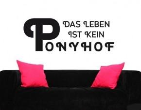Wandtattoo Ponyhof
