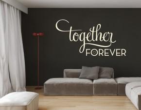 Wandtattoo Together Forever