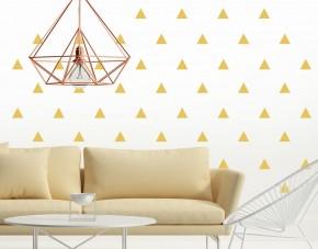Wandtattoo Dreieck-Muster