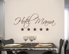 Wandtattoo Hotel Mama