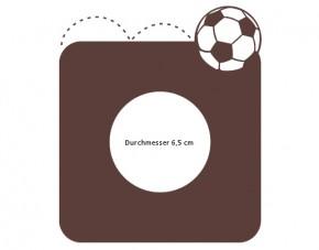 Steckdosentattoo Fußball