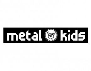 Wandtattoo Metal-Kids Logo