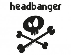 Wandtattoo Metal-Kids Headbanger